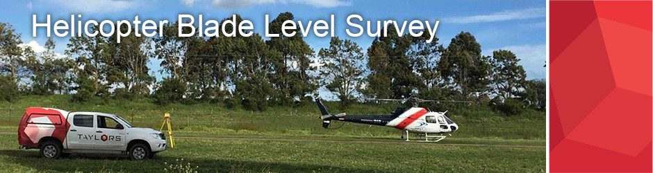 Helicopter Blade Level Survey