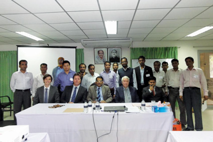 Taylors complete Train-The-Trainer Course in Bangladesh