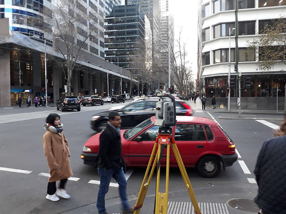 Taylors Survey team in the CBD