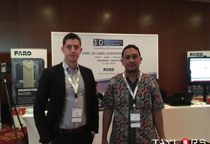 FARO 3D User Conference – Networking and New Technology