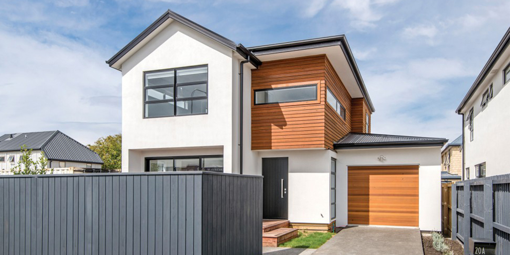 Canon Street, St Albans.  Built with sustainable certified materials. Photo credit: Superhome