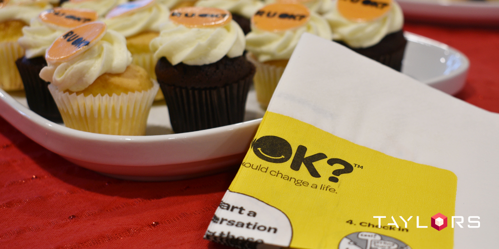 An R U OK afternoon tea was well enjoyed by the Melbourne team.