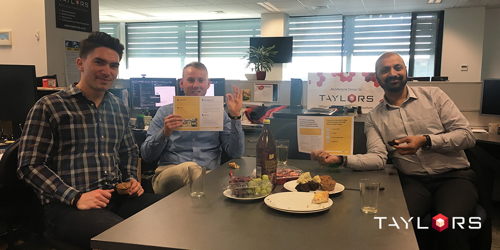 Our Christchurch team took the time to ask R U OK over lunch