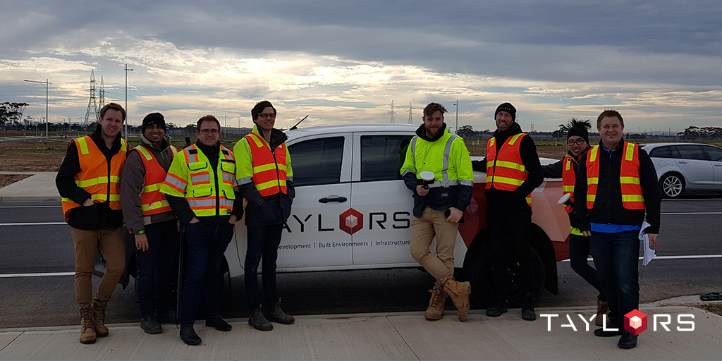 Taylors experts and Trimble representatives as part of the Early Experience Program