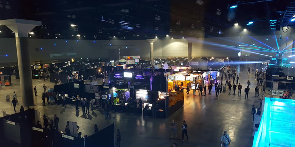 VRLA 2018 held at the Los Angeles Convention Center. Image credit VRLA