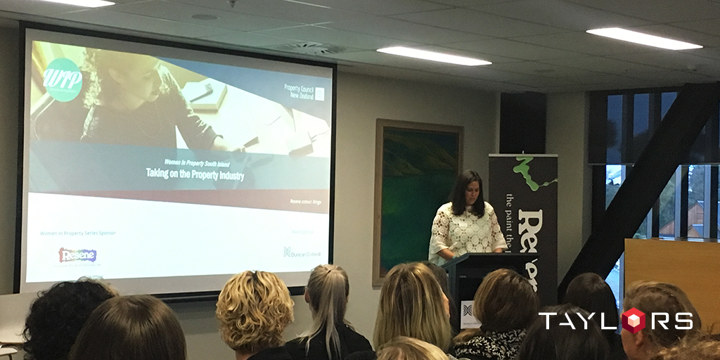 Architectural Design Manager for the New Zealand office, Kristen Neri, delivers an inspirational presentation