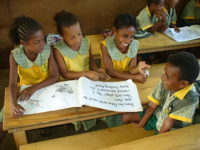 Taylors contributes to education improvements in Kokoda, PNG